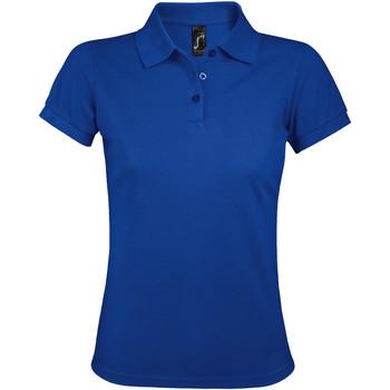 Textiel Dames Polo's korte mouwen Sols PRIME ELEGANT WOMEN Azul