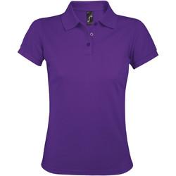 Textiel Dames Polo's korte mouwen Sols PRIME ELEGANT WOMEN Violeta