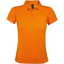 Textiel Dames Polo's korte mouwen Sols PRIME ELEGANT WOMEN Naranja