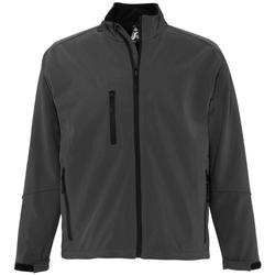 Textiel Heren Wind jackets Sols RELAX SOFTSHELL Gris