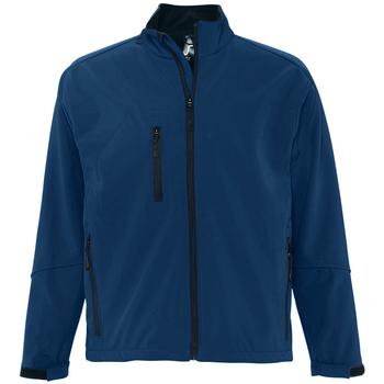 Textiel Heren Wind jackets Sols RELAX SOFTSHELL Azul
