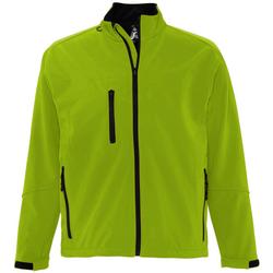 Textiel Heren Wind jackets Sols RELAX SOFTSHELL Verde