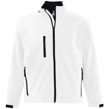 Textiel Heren Wind jackets Sols RELAX SOFTSHELL Blanco