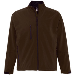 Textiel Heren Wind jackets Sols RELAX SOFTSHELL Marr?n
