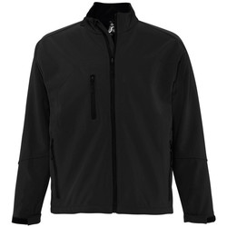 Textiel Heren Wind jackets Sols RELAX SOFTSHELL Negro