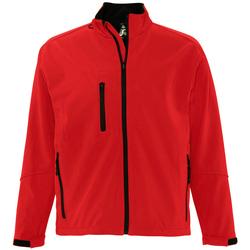 Textiel Heren Wind jackets Sols RELAX SOFTSHELL Rojo