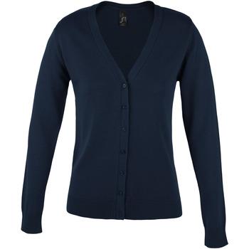 Textiel Dames Vesten / Cardigans Sols GOLDEN ELEGANT WOMEN Azul