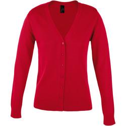 Textiel Dames Vesten / Cardigans Sols GOLDEN ELEGANT WOMEN Rojo
