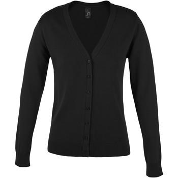 Textiel Dames Vesten / Cardigans Sols GOLDEN ELEGANT WOMEN Negro