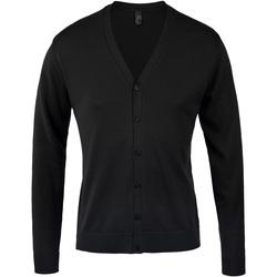 Textiel Heren Vesten / Cardigans Sols GOLDEN ELEGANT MEN Negro