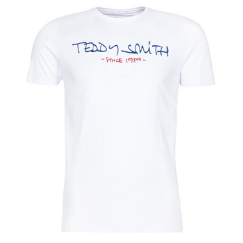 Textiel Heren T-shirts korte mouwen Teddy Smith TICLASS Wit