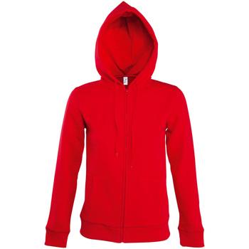 Textiel Dames Trainings jassen Sols SEVEN KANGAROO WOMEN Rojo