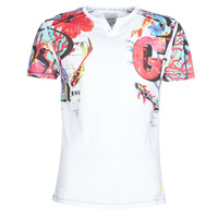 Textiel Heren T-shirts korte mouwen Desigual LIAN Multicolour