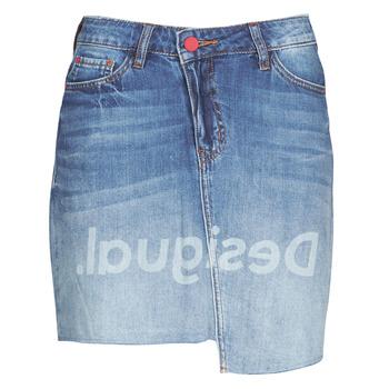 Textiel Dames Rokken Desigual LOG Blauw