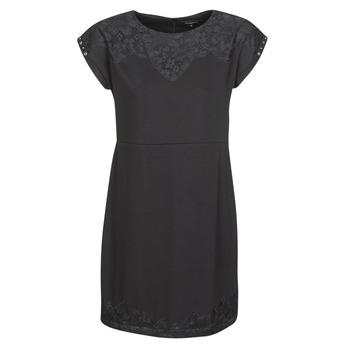 Textiel Dames Korte jurken Desigual BANQUET Zwart