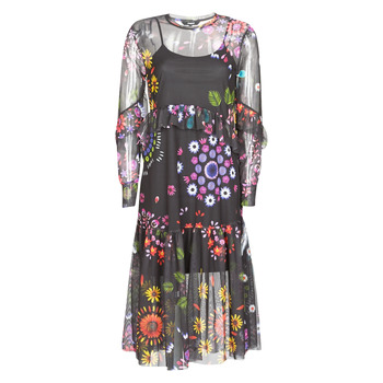 Textiel Dames Lange jurken Desigual PORTLAND Multi