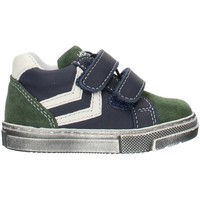 Schoenen Jongens Hoge sneakers Balocchi 993270 Blue and green