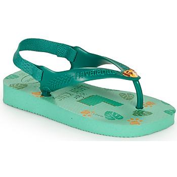 Schoenen Kinderen Teenslippers Havaianas BABY DISNEY CLASSICS II Groen