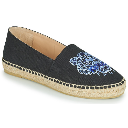 Schoenen Dames Espadrilles Kenzo ESPADRILLE CLASSIC TIGER Zwart