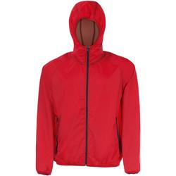 Textiel Windjack Sols SHORE HIDRO SPORT Rojo