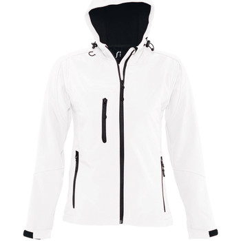 Textiel Heren Trainings jassen Sols REPLAY WOMEN STYLE Blanco