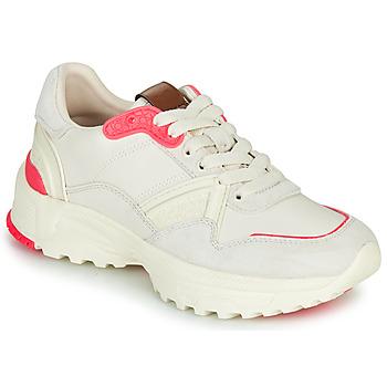 Schoenen Dames Lage sneakers Coach C143 RUNNER Wit / Roze