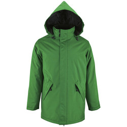 Textiel Dames Parka jassen Sols ROBYN PADDED LINING WOMEN Verde