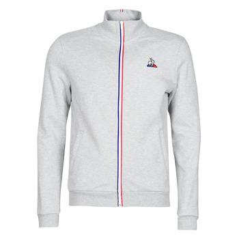 Textiel Heren Trainings jassen Le Coq Sportif ESS FZ Sweat N°2 M Grijs / Gevlekt
