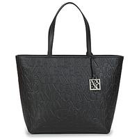 Tassen Dames Handtassen lang hengsel Armani Exchange MANO Zwart
