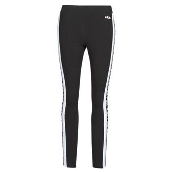 Textiel Dames Leggings Fila TASYA Zwart