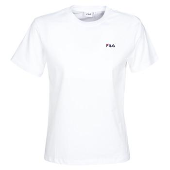 Textiel Dames T-shirts korte mouwen Fila EARA Wit