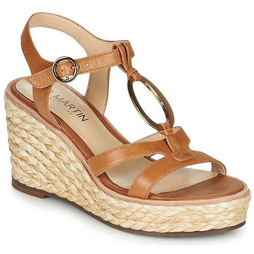 Schoenen Dames Sandalen / Open schoenen JB Martin EMANI Bruin