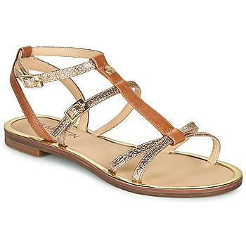 Schoenen Dames Sandalen / Open schoenen JB Martin 1GRIOTTES Bruin / Goud