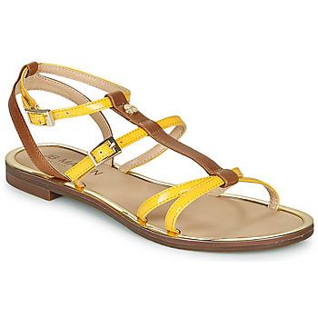 Schoenen Dames Sandalen / Open schoenen JB Martin 1GRIOTTES Geel / Bruin
