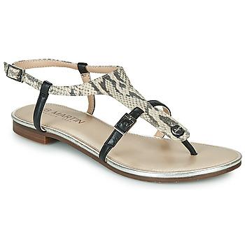 Schoenen Dames Sandalen / Open schoenen JB Martin 2GAELIA Zwart / Beige