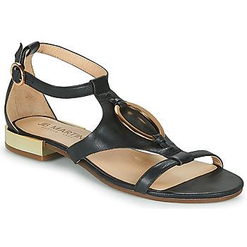 Schoenen Dames Sandalen / Open schoenen JB Martin BOCCIA Zwart