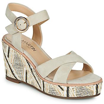 Schoenen Dames Sandalen / Open schoenen JB Martin EMEA Beige