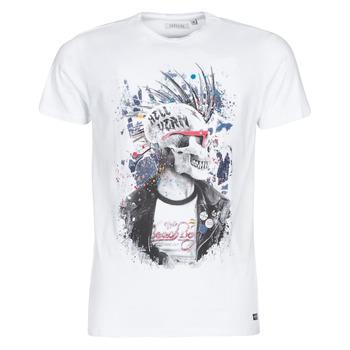 Textiel Heren T-shirts korte mouwen Deeluxe ENFIELDON Wit