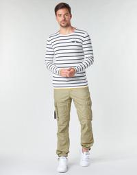 Textiel Heren Cargobroek Deeluxe TROPERY Kaki