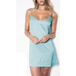 Textiel Dames Pyjama's / nachthemden Admas Babydoll Zachte Dromen Adma's Blauw