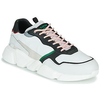 Schoenen Heren Lage sneakers Serafini OREGON Wit / Zwart