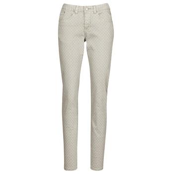 Textiel Dames 5 zakken broeken Cream ANNIE Grijs