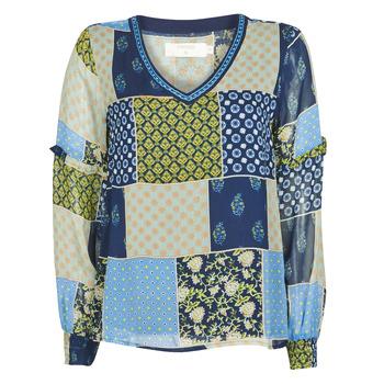 Textiel Dames Tops / Blousjes Cream CLODIE Blauw