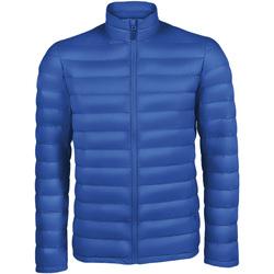 Textiel Heren Dons gevoerde jassen Sols WILSON PADDED MEN Azul