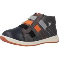 Schoenen Jongens Hoge sneakers Garvalin 191317 Groen