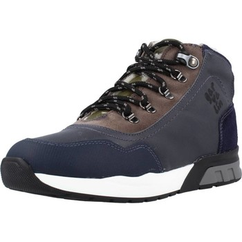 Schoenen Jongens Hoge sneakers Garvalin 191421 Blauw
