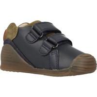 Schoenen Jongens Lage sneakers Biomecanics 191153 Blauw