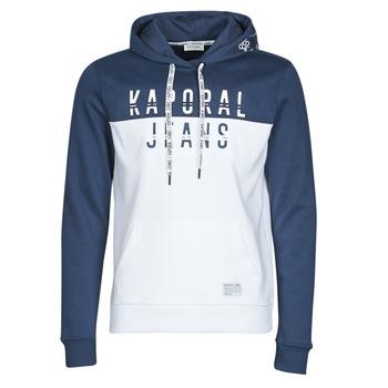 Textiel Heren Sweaters / Sweatshirts Kaporal TOSCA Wit / Blauw