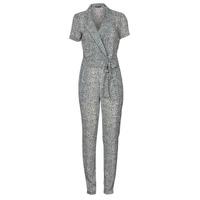 Textiel Dames Jumpsuites / Tuinbroeken Ikks BQ32045-03 Zwart / Wit
