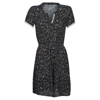 Textiel Dames Korte jurken One Step ROSA Zwart